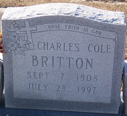 Charles Cole Britton