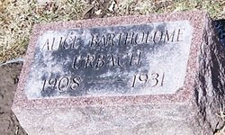 Alice Marguerite <i>Bartholome</i> Urbach