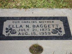 Alzenith Ellanora Ella <i>Hodges</i> Baggett