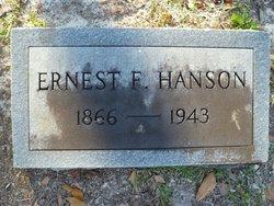 Ernest F Hanson