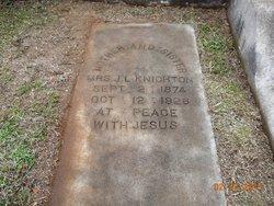 Martha Jane Mattie <i>Sandlin</i> Knighton