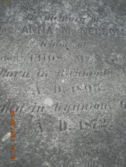 Anna Matilda <i>Carter</i> Nelson