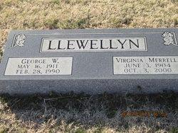 Virginia <i>Merrell</i> Llewellyn