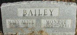 Mary Alice <i>Clingan</i> Bailey