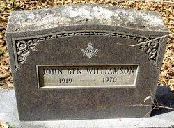 John Ben Williamson