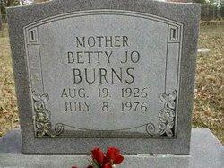 Betty Jo Burns
