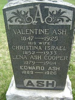 Christina <i>Israel</i> Ash