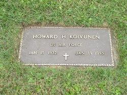 Howard Harold (Wuollet) Koivunen