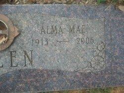 Alma Mae <i>Clements</i> Allen