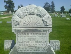 Martha Jane <i>Brooks</i> Stephens