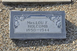 Louisa Frances Lou <i>Carpenter</i> Holcomb