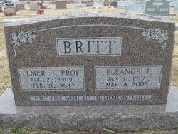 Dora Eleanor <i>Francis</i> Britt
