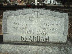 Sarah Jane <i>Holladay</i> Bradham