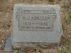M. J. Adkison