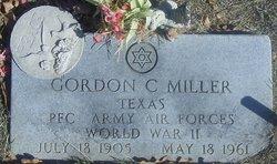 Gordon C Miller