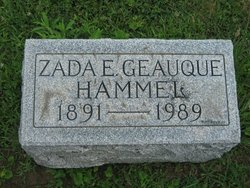 Zada Estelle <i>Geauque</i> Hammel