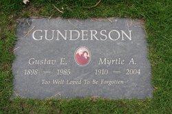 Myrtle A Gunderson