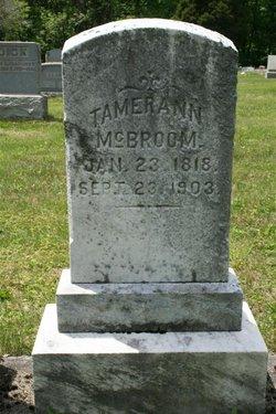 Tamerann McBroom