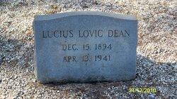 Lucius Lovic Dean