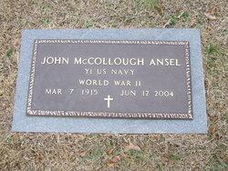 John McCollough Ansel