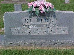 Rhina Elizabeth <i>Sullivan</i> Burton