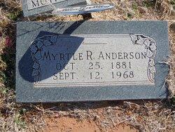 Myrtle R. <i>Harrington</i> Anderson