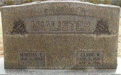Clyde Wamsley McAlister