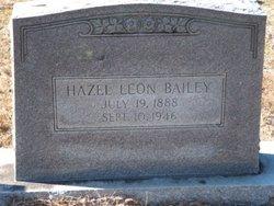 Hazel <i>Leon</i> Bailey