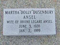 Martha <i>Dusenbury</i> Ansel