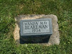Wanda May Blakeman