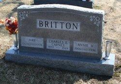 Annie M <i>Karnes</i> Britton