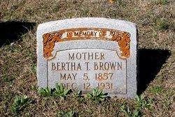 Bertha Tullah <i>Byrd</i> Brown