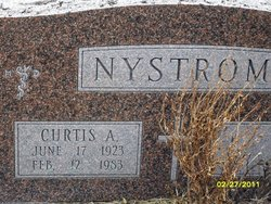 Dr Curtis Alfred Nystrom