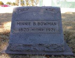 Minnie Bell <i>Martin</i> Bowman