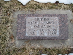 Mary Elizabeth <i>Kapp</i> Bauman