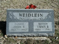 Emma Belle <i>Van Dyke</i> Weidlein