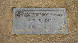 Jacqueline <i>Bogue</i> Brock