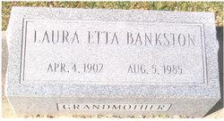 Laura Etta <i>Mixon</i> Bankston