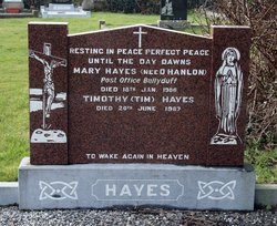 Mary <i>O'Hanlon</i> Hayes