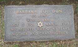 Barbara Lou Don