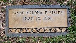 Anne Louise <i>McDonald</i> Fields