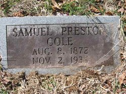 Samuel Preston Cole