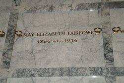 May Elizabeth <i>Jackson</i> Fairfowl