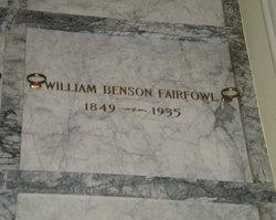 William Benson Fairfowl