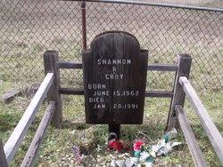 Shannon R Croy