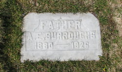 Alfred Edward Fred Burroughs