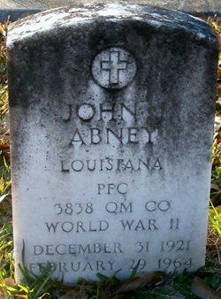 PFC John J Abney
