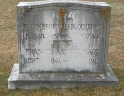 Frances Asbury <i>Ware</i> Blocker