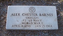 Alex Chester Bud Barnes