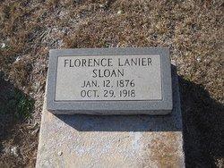 Florence <i>Lanier</i> Sloan